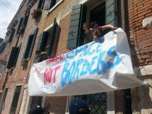 Greek and German consulates occupied in Bologna and Venice